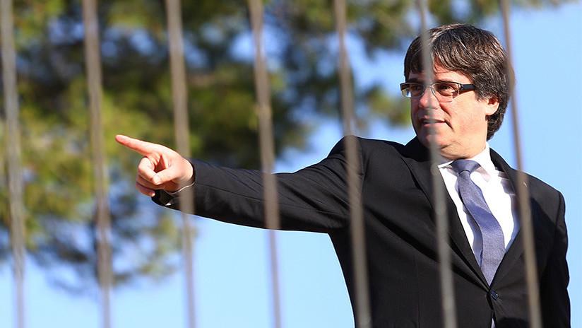 La Fiscalía de España pedirá al Supremo la prisión de Puigdemont si declara la independencia