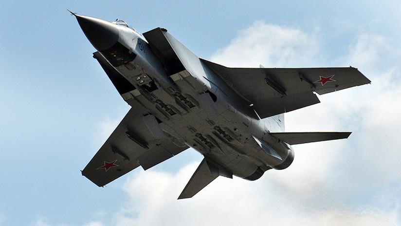 VIDEO: Así es el interceptor supersónico MiG-31, el 'asesino' más rápido del mundo
