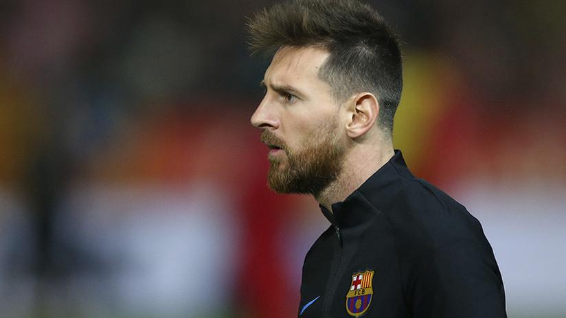 VIDEO: El doble de Messi visita Barcelona para conocer a su ídolo y causa furor entre los hinchas