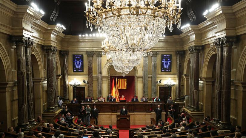 Así se vivió en Cataluña la declaración de independencia — Fotogalería