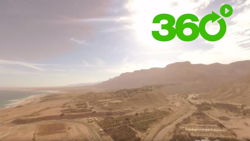 El mar Muerto está muy 'vivo': Descubra la octava maravilla del mundo con este video en 360º de RT