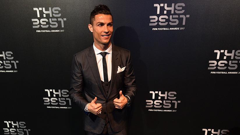 Cristiano Ronaldo, mejor jugador del 2017