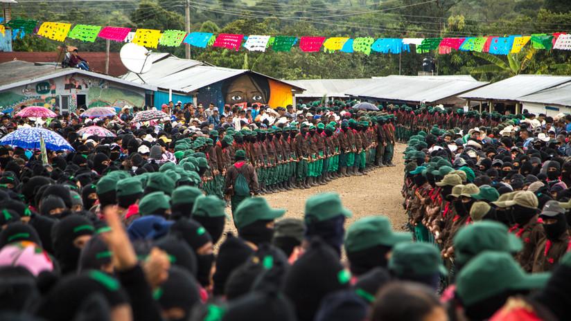 RT recorre el territorio zapatista con la candidata indígena a la presidencia de México