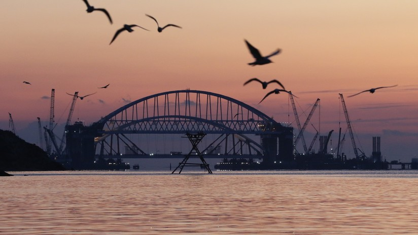 Rusia detecta aeronaves espía estadounidenses cerca del puente de Crimea