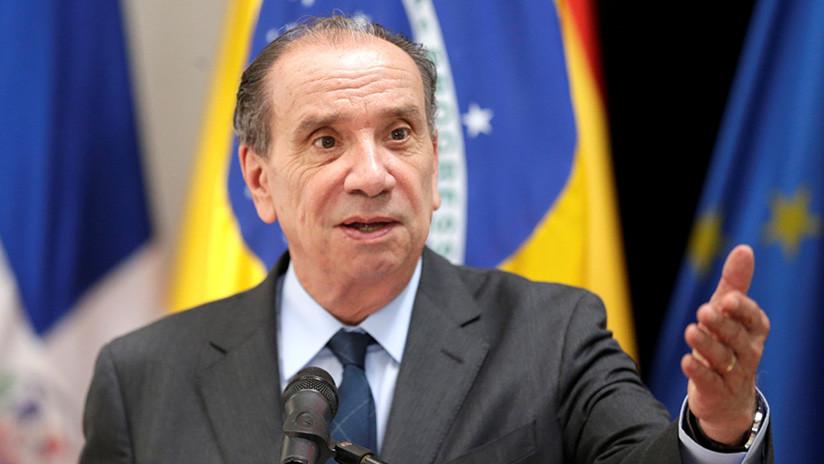 """Canciller de Brasil reconoce que se suspendió a Venezuela del Mercosur porque """"era un obstáculo"""""""