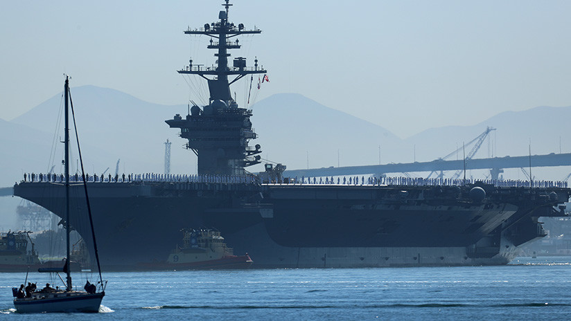 EE.UU. envía otro portaviones a aguas cercanas a Corea del Norte