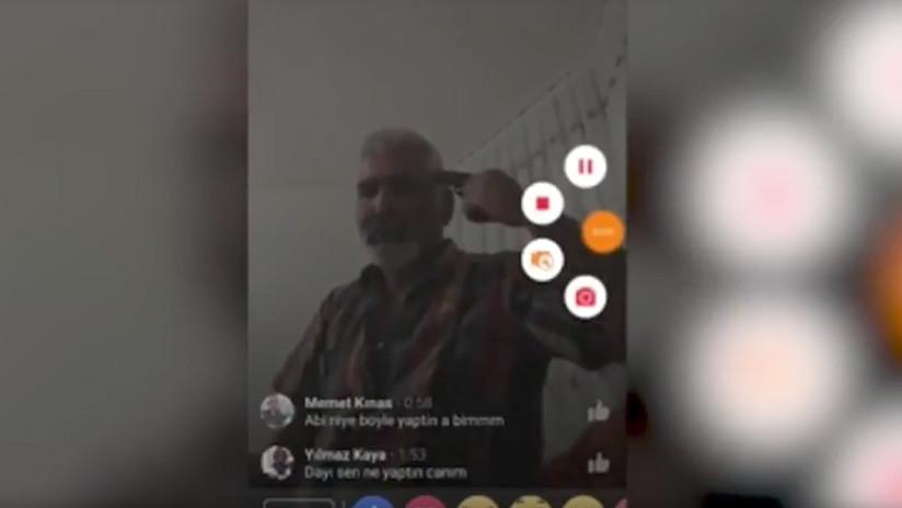 Un hombre se suicida en Facebook Live porque su hija se comprometió sin su permiso (VIDEO, 18+)