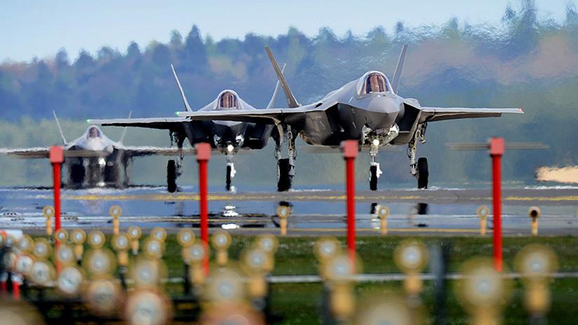 """Extraños """"incidentes fisiológicos"""" paralizan operaciones de los cazabombarderos F-35 en EE.UU."""