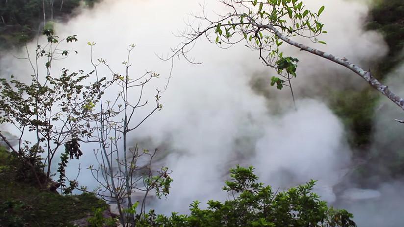 FOTOS: El legendario río hirviente del Amazones peruano que alcanza los 100 grados centígrados