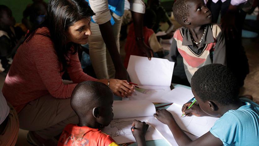 Evacúan a la embajadora de EE.UU. ante la ONU de un campamento en Sudán del Sur