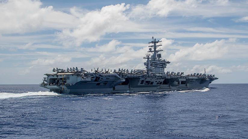 ¿Guerra a la vuelta de la esquina? Un tercer portaviones de EE.UU. atraca cerca de Corea del Norte