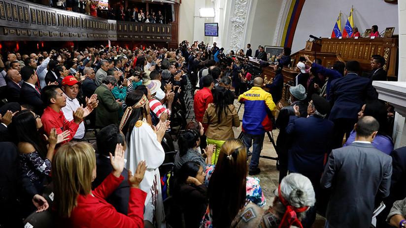 La ANC de Venezuela adelanta elecciones de alcaldes para diciembre