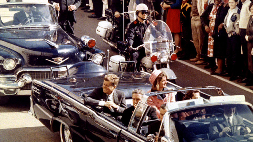 Levantan el telón del asesinato de JFK