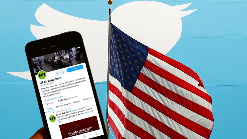 """Kremlin: """"La decisión de Twitter sobre RT está motivada por profundos prejuicios"""""""