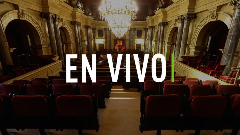 EN VIVO: Comienza la votación por la independencia de Cataluña en el Parlament