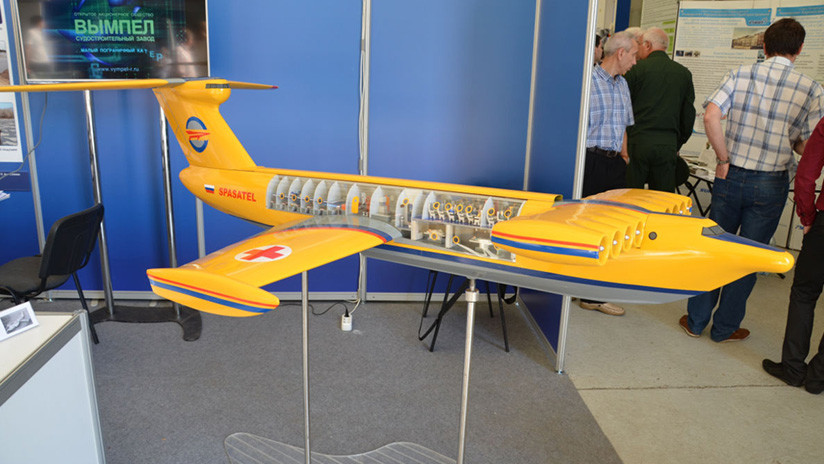 Rusia desarrolla un ekranoplano superpesado para la Marina