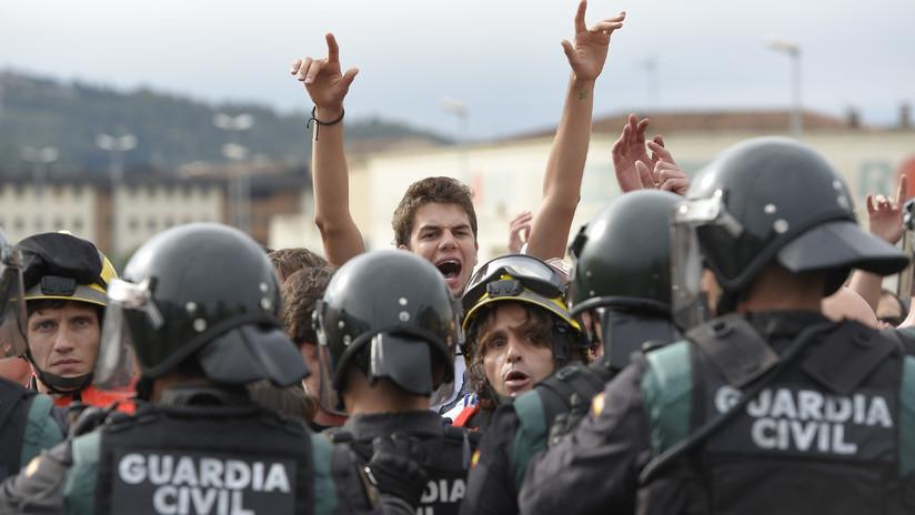 """""""La declaración de la independencia de Cataluña puede provocar el uso de la fuerza"""""""