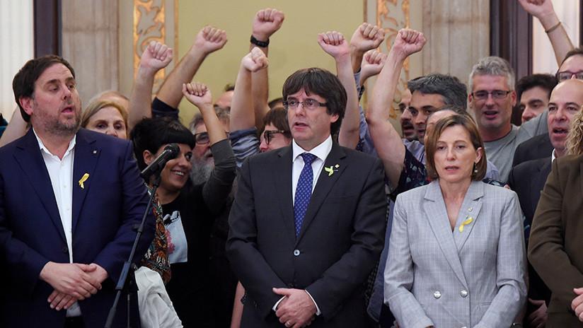 """Puigdemont: """"Cataluña es y será una tierra de libertad"""""""