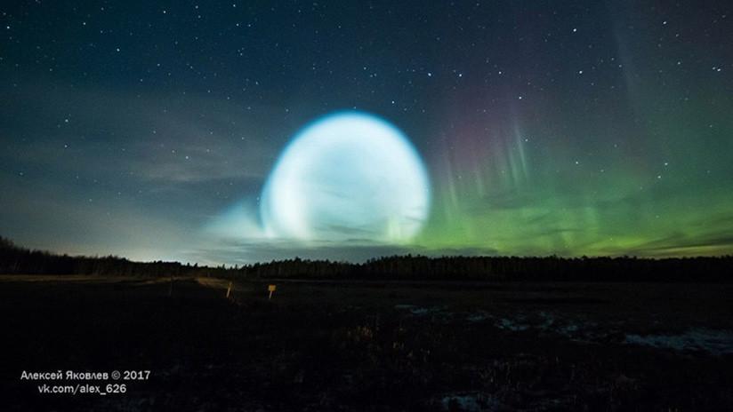VIDEO: Una gran esfera brillante iluminó el cielo en Siberia