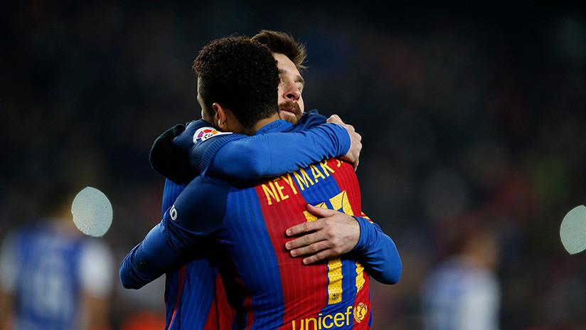 Messi 'muerto' y Neymar protagonizan un nuevo aviso propagandístico del Estado Islámico (FOTO)