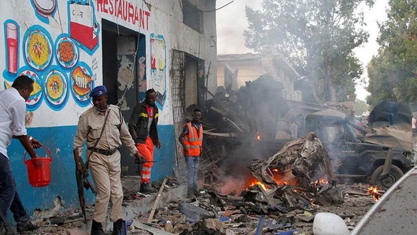Un ataque suicida en un hotel de Somalia deja al menos 27 muertos (FOTOS, VIDEOS)