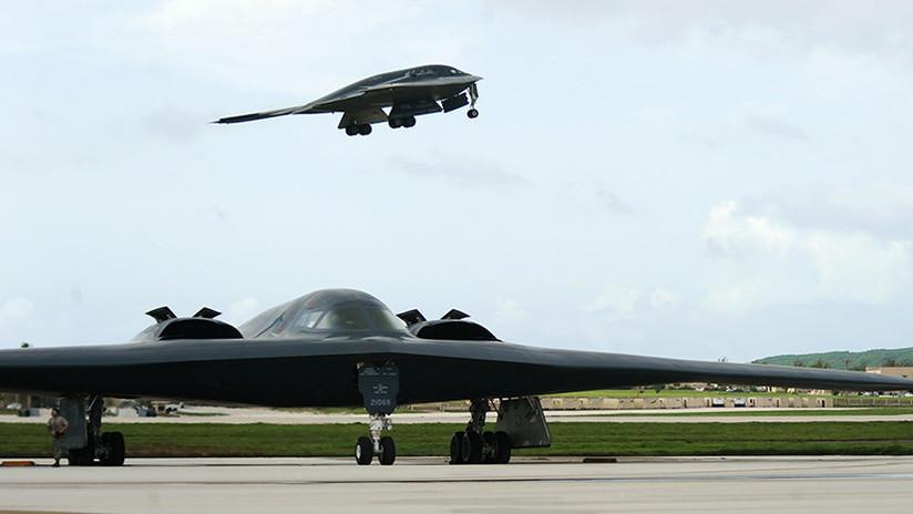 Un bombardero B-2 con capacidad nuclear realiza una misión sobre el Pacífico (FOTOS)