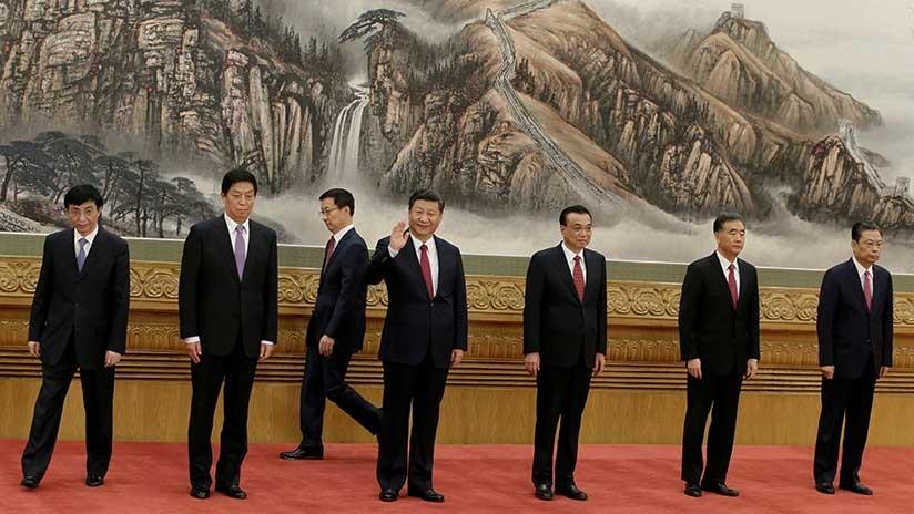 Estas son las 7 personas que gobernarán China durante los próximos 5 años