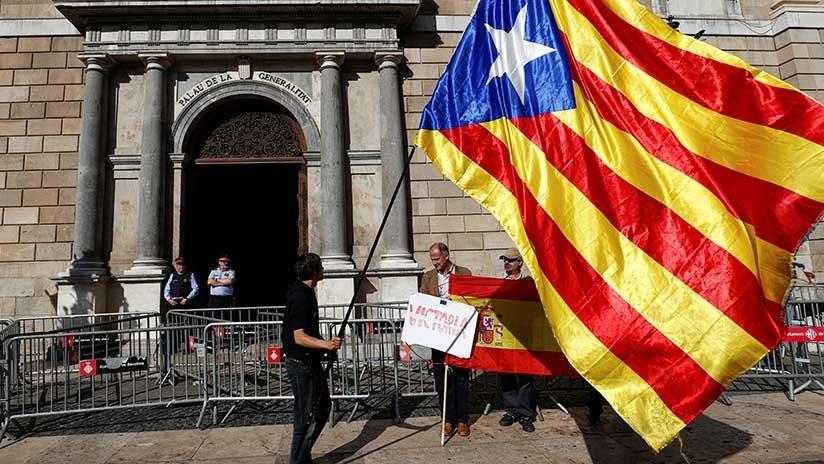 MINUTO A MINUTO:  Cataluña tras la declaración de independencia