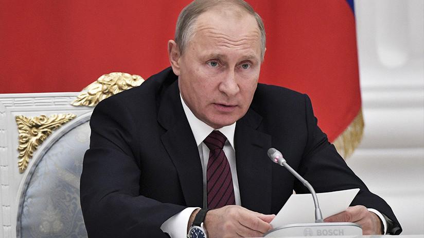 "Putin: ""Alguien recoge material biológico de las etnias rusas"""