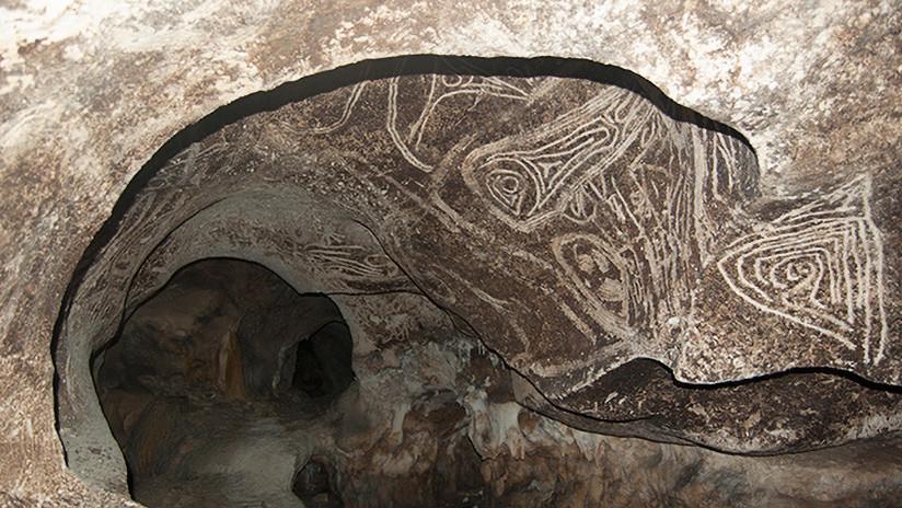 FOTOS: Descubren miles de pinturas rupestres de una civilización desaparecida en una isla del Caribe