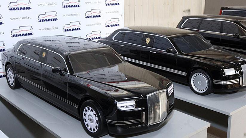 Un auto para el presidente: prueban el nuevo coche que usará el líder de Rusia (VIDEO)