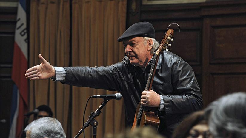 Fallece en Montevideo el cantautor uruguayo Daniel Viglietti