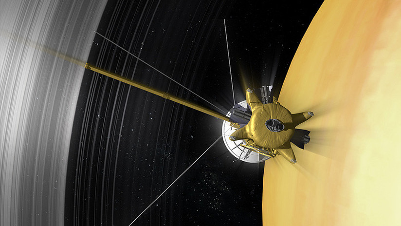 La NASA muestra una impresionante vista del hexágono del polo norte de Saturno (FOTO)
