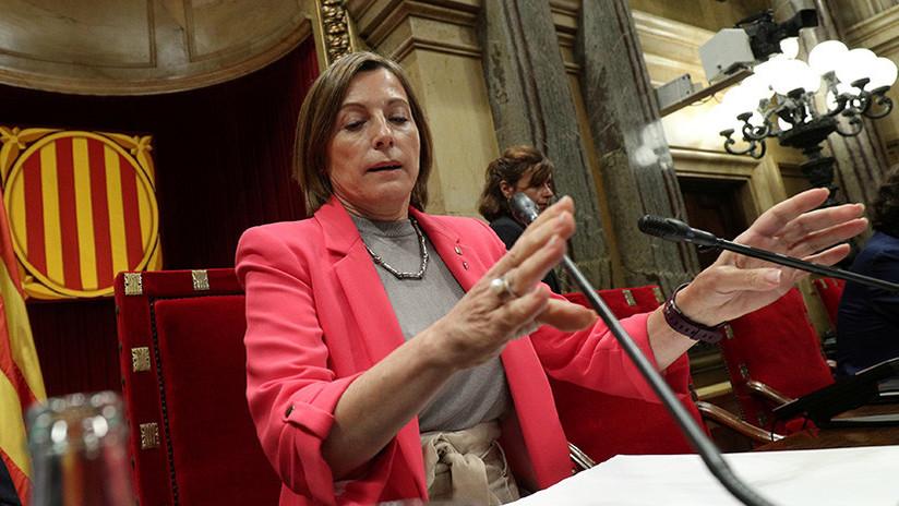 España: El Tribunal Supremo admite la querella contra Carme Forcadell y la Mesa del Parlament