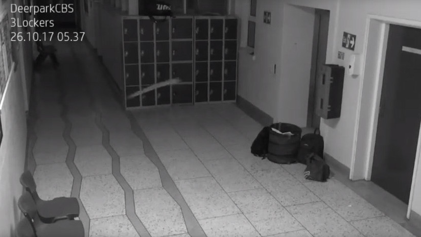 El sistema de vigilancia de una antigua escuela irlandesa vuelve a detectar un 'fantasma'