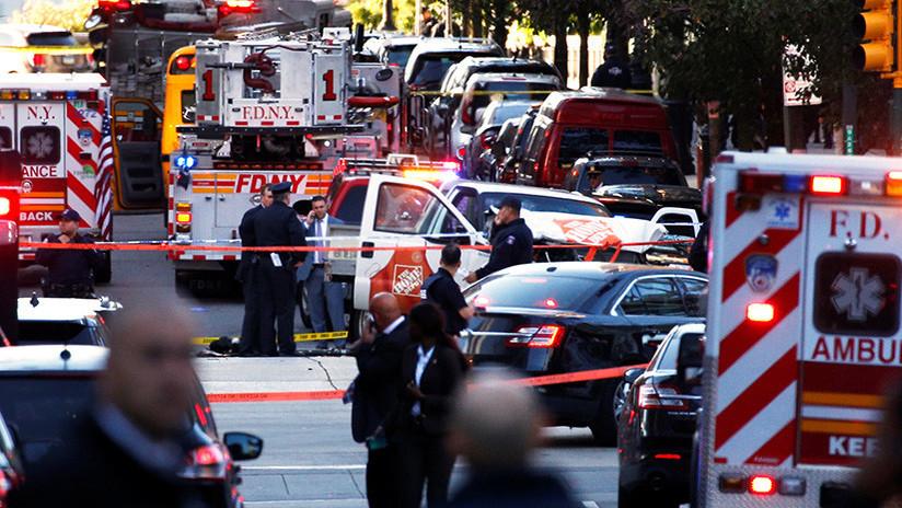 VIDEO: El supuesto atacante de Nueva York huye de la policía tras su mortal atropello