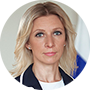 Portavoz del Ministerio de Exteriores ruso, María Zajárova