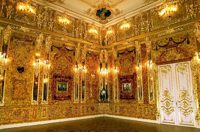 ¿Hallada la Sala de Ámbar del Palacio de Catalina?