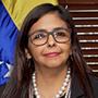 Delcy Rodríguez, presidenta de la Asamblea Nacional Constituyente (ANC)