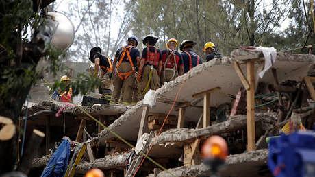 Las consecuencias del fortísimo sismo en México, el 25 de septiembre de 2017.