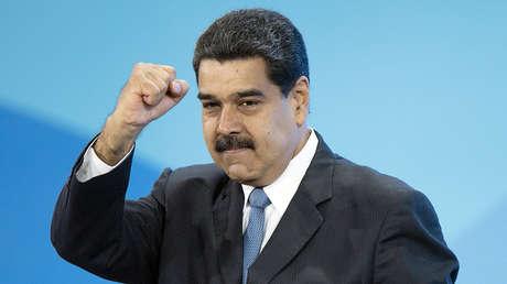 El presidente de Venezuela, Nicolás Maduro, durante el foro internacional Semana de la Energía de Rusia en Moscú.