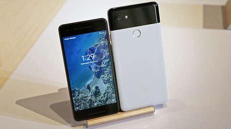 Los nuevos teléfonos inteligentes de Google Pixel 2 y Pixel 2 XL fueron presentados este 4 de octubre de 2017 en el SFJAZZ Center en San Francisco, California.