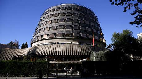 Edificio del Tribunal Constitucional de España, en Madrid