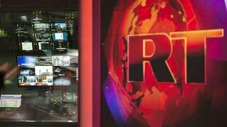 Sala de redacción de RT en Inglés, el 28 de enero de 2015.