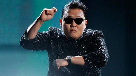 El cantante Park Jae-sang, más conocido como Psy.