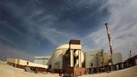 La planta nuclear en Bushehr, a unos 1.200 kilómetros al sur de Teherán