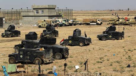 Las fuerzas leales a Bagdad se concentran en las afueras de la ciudad de Tuz Khurmatu para una ofensiva hacia el norte