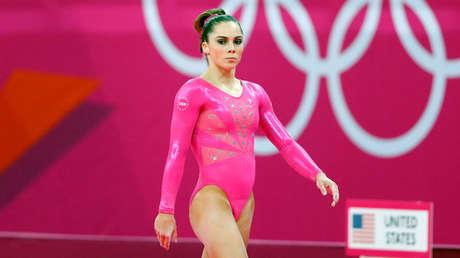 La gimnasta estadounidense McKayla Maroney, 26 de julio de 2012.