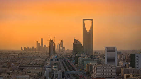 Vista de Riad, Arabia Saudita