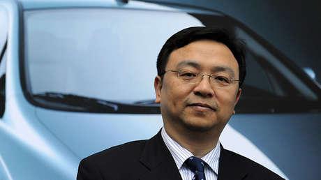 El empresario chino Wang Chuanfu.